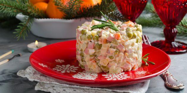 Resipi Salad Mudah: Salad klasik Olivier