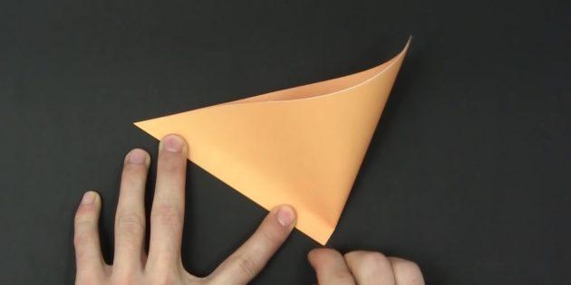 Bagaimana untuk memotong kepingan salji kertas: membuat tanda