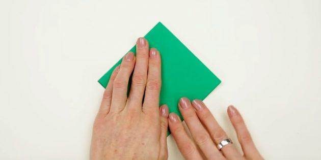 faça você mesmo com suas próprias mãos: dobre o papel