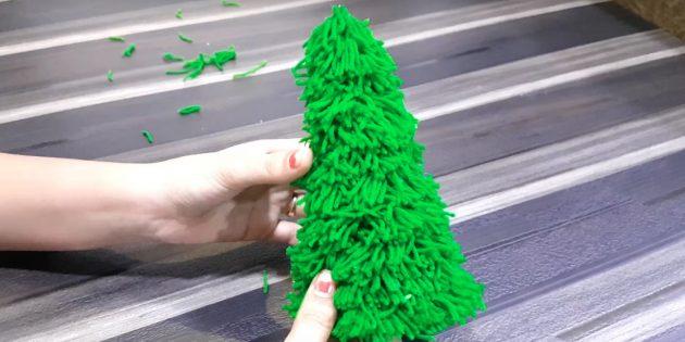 Wie kann man einen Weihnachtsbaum machen?