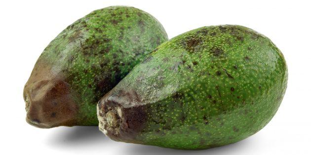 Как правильно выбрать авокадо: не берите фрукт с повреждениями на шкурке