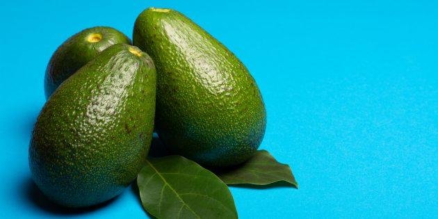 Как выбрать спелое авокадо: авокадо «фуэрте»