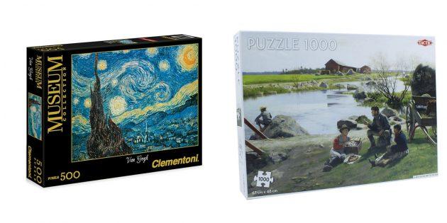 Ragazzo regalo: puzzle dettagliato