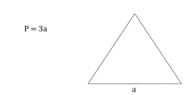 Cara mencari keliling segitiga sama sisi