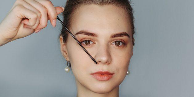 Eyebrows এর নিখুঁত ফর্ম: ভ্রুের শেষ নির্ধারণ করুন