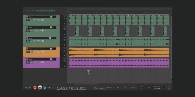 En İyi Müzik Editörleri: Reaper
