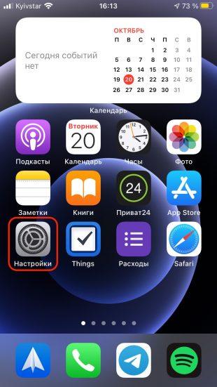 Come abilitare il flash quando si chiama su iPhone: apri l