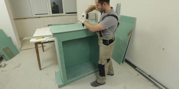 Decorative fireplace with their own hands: Lick all the fireplace surfaces