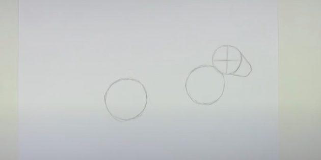 Sådan tegner du en hare: Mark ansigtet