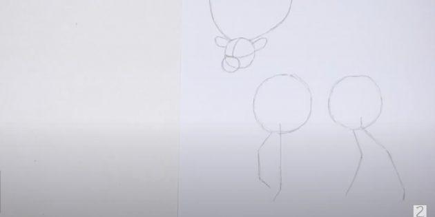 Miten tehdä hirvieläin: Huomaa takajalat