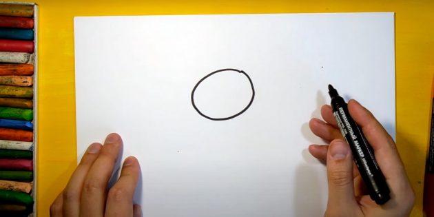 Làm thế nào để vẽ một cái thỏ rừng: notch đầu của bạn