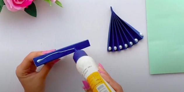Подарки на 8 Марта своими руками: склейте оба веера