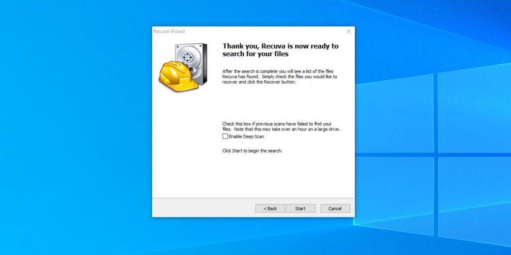 """Como restaurar os arquivos excluídos da """"cesta"""" no Windows: Se desejar, gaste mais digitalização completa"""