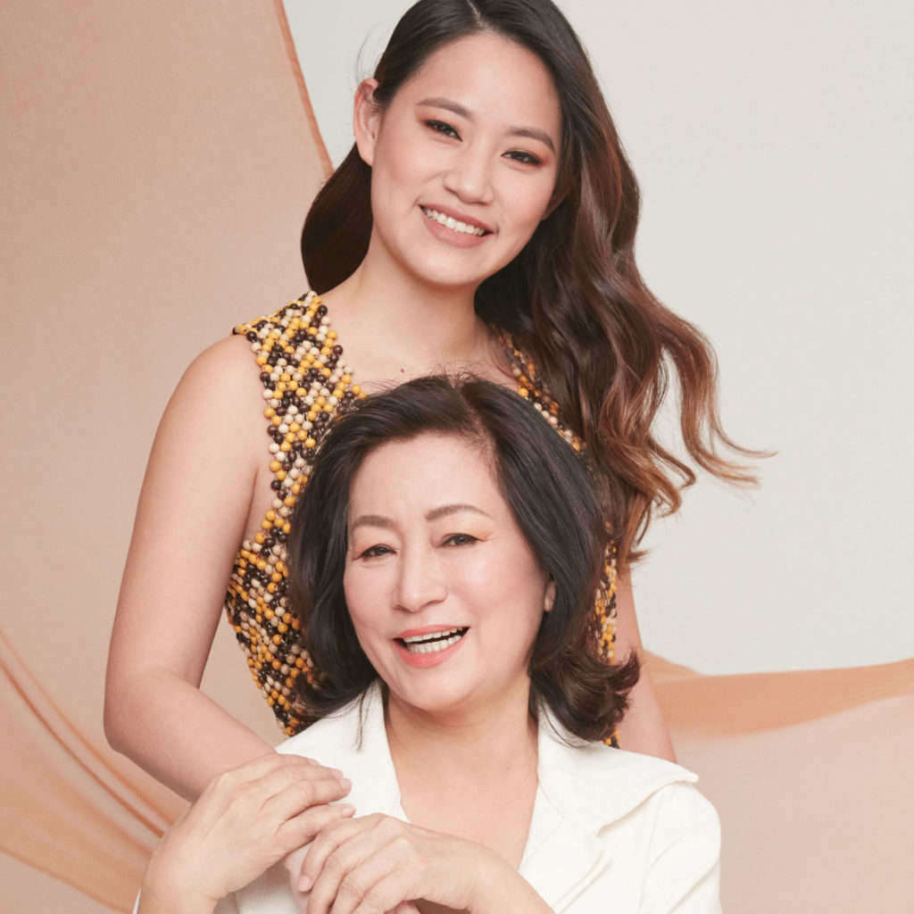 Angeline Tan and mother of Maria's SteakCafe