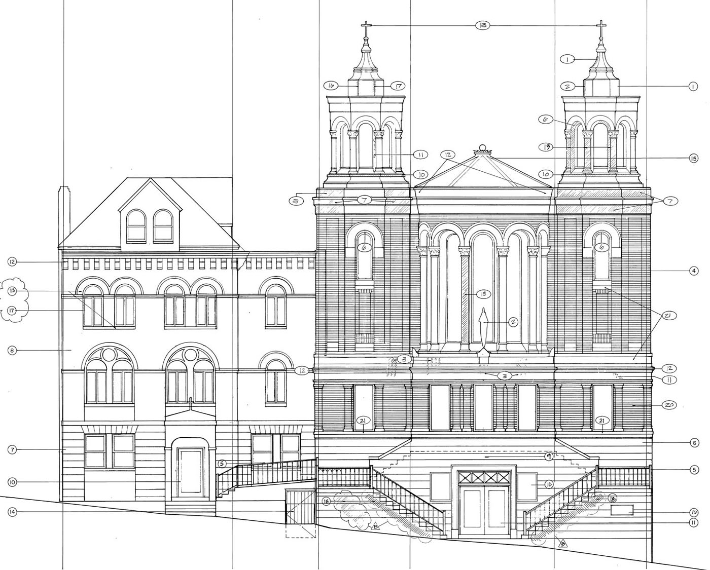 23 Exterior Elevation Drawings Is Mix Of Brilliant