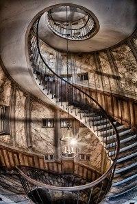 Spiral staircase, Paris: stock photography: Scott Stulberg ...