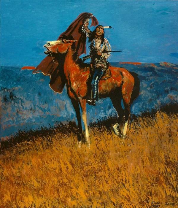 Signal 36x42 Original Oil Paintings Ernest Berke