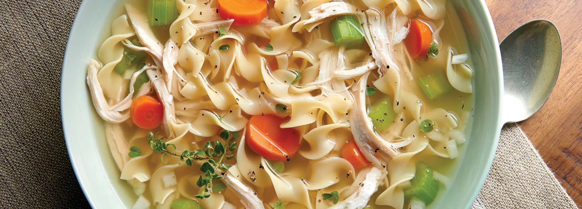 Light N Fluffy  Chicken Noodle Soup