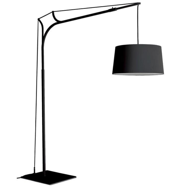 tina lampadaire arc aluminium h220cm