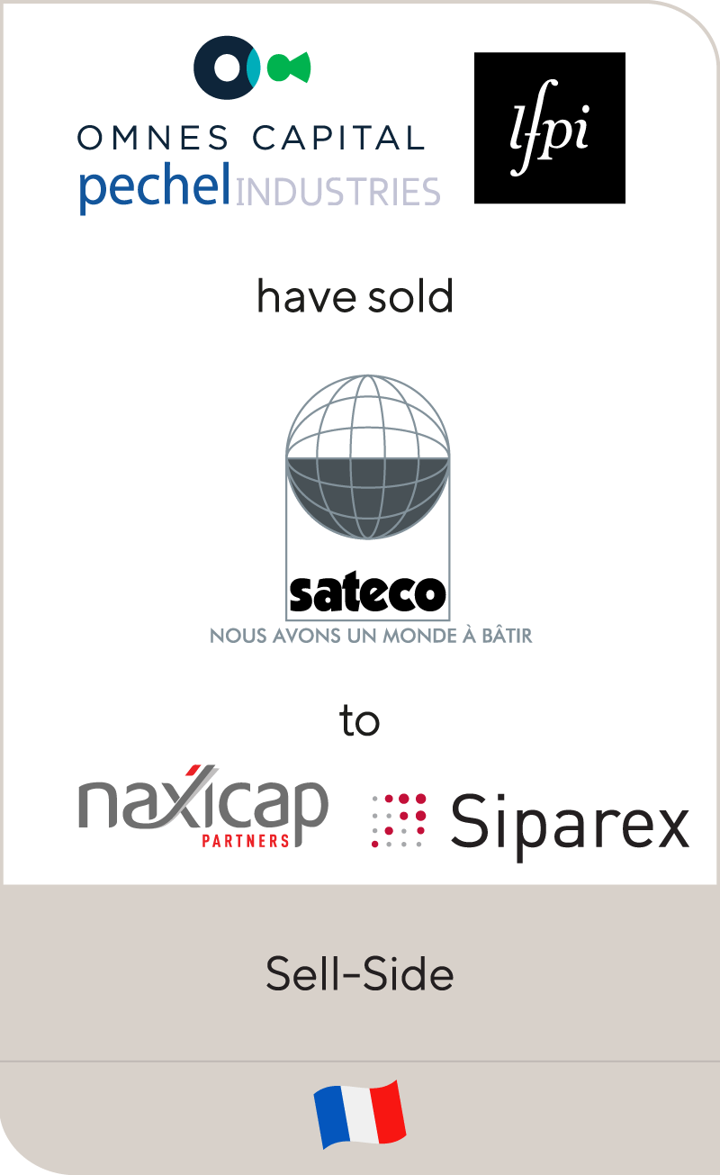 Omnes Capital, LFPI, and Pechel have sold Sateco to