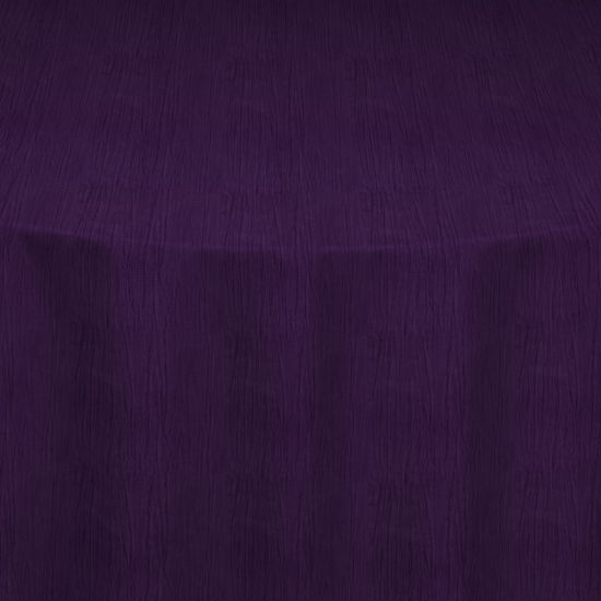 wedding chair covers lilac rocking cheap eggplant crinkle taffeta overlay by & linens