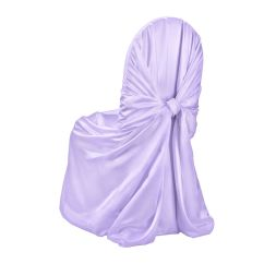 Wedding Chair Covers Lilac Unfinished Wood Kitchen Chairs Classic Satin Pillow Case Cover By Linens