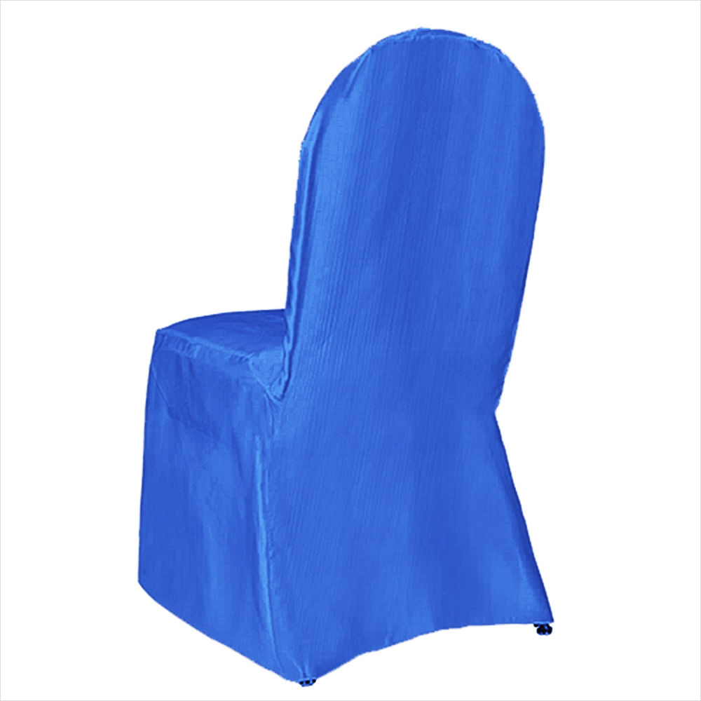 royal blue chair covers graco slim fold high classic satin banquet cover by linens