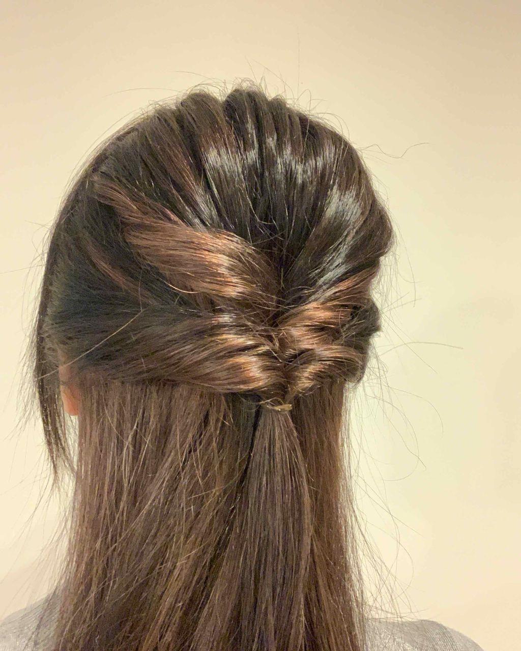 日系甜美女神風「反轉編髮」自己來超簡單!日本女孩們的編髮教學不藏私大公開   美髮,造型,髮型,How To ...