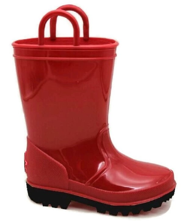 Kids Rain Boots- Skadoo- Toddler 5 Big Kid 6 Girls Boys Waterproof