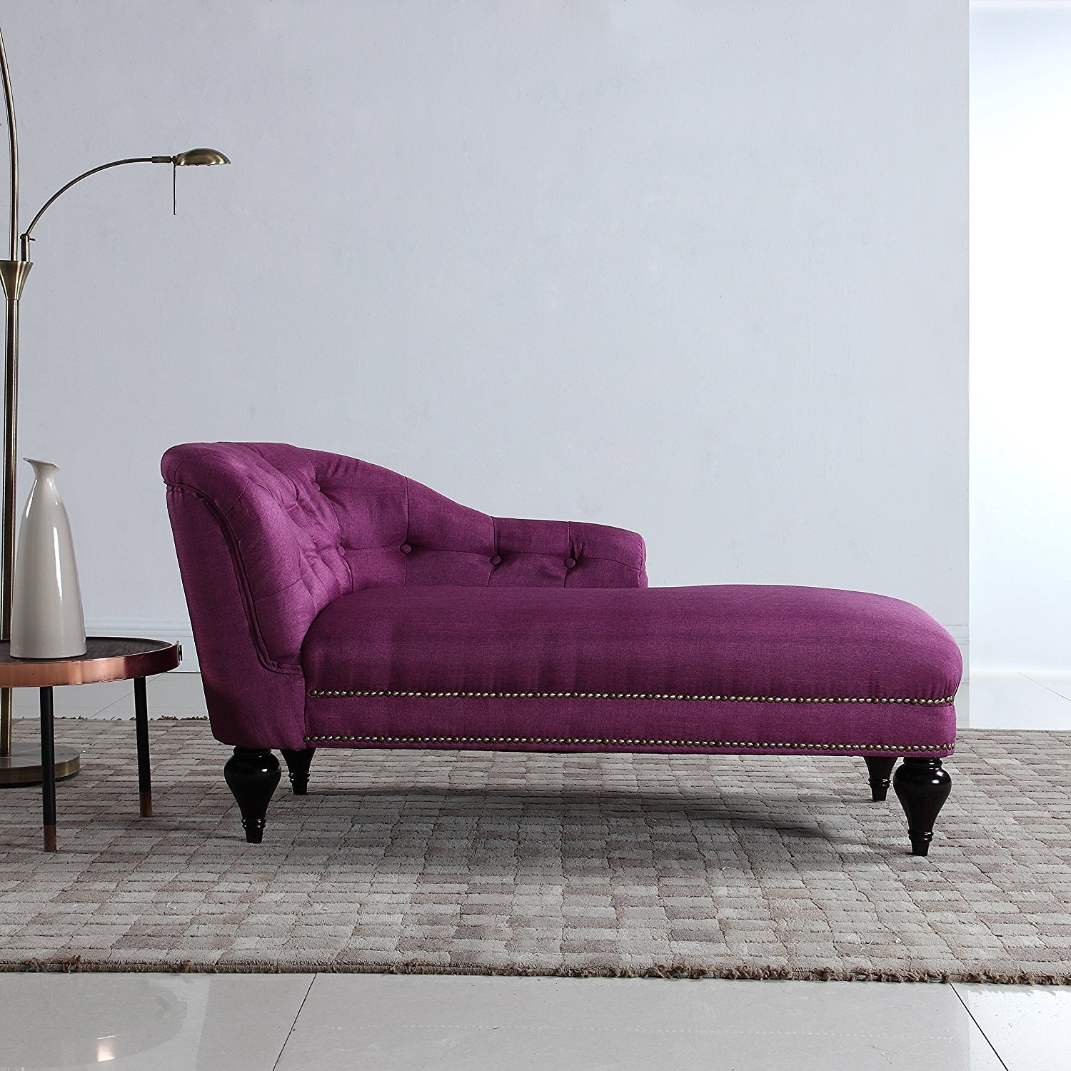 Details About Modern And Elegant Kid S Chaise Lounge For Living Room Or Bedroom Rose Red