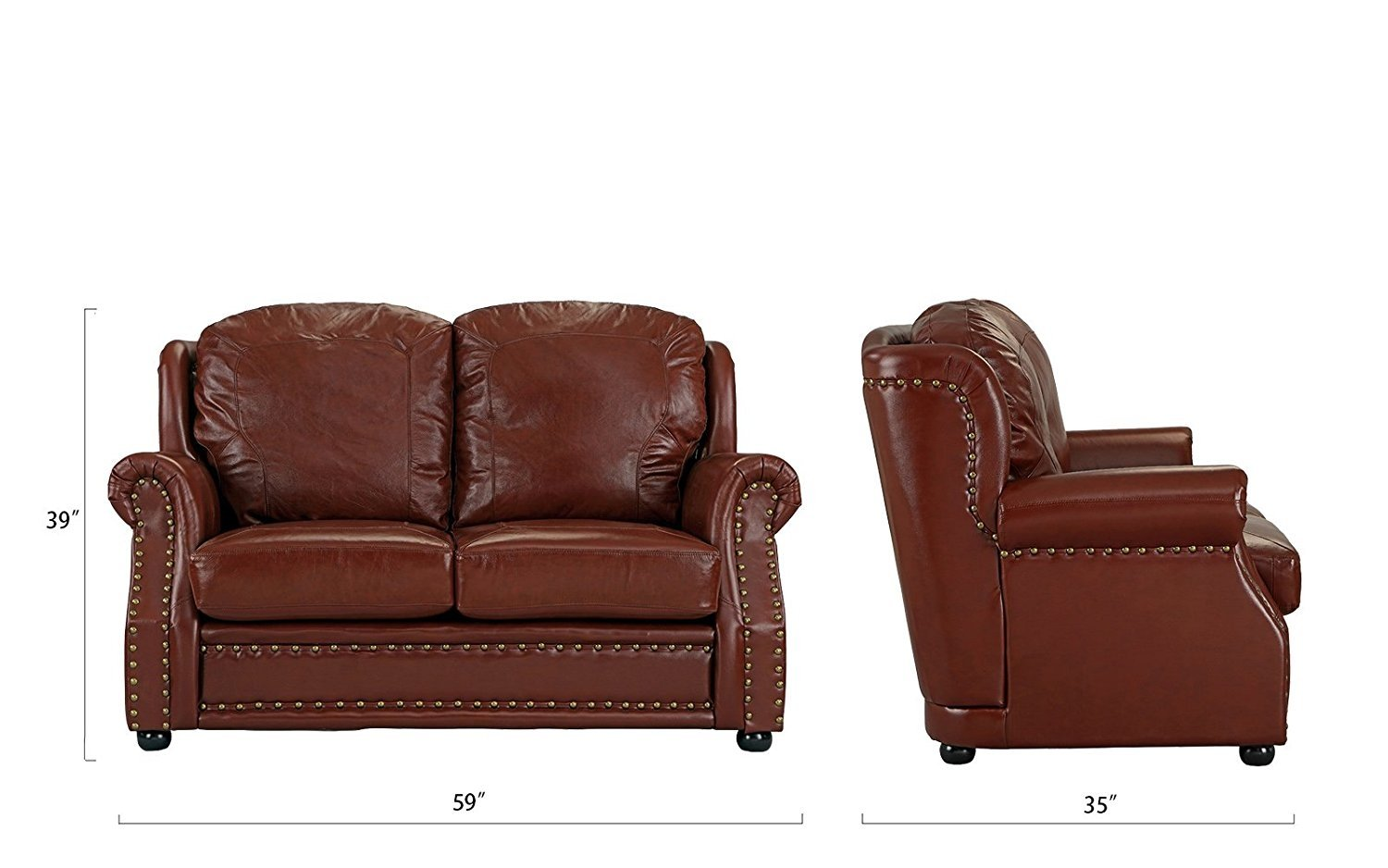 light brown leather reclining sofa sorrento bright house and loveseat home the honoroak
