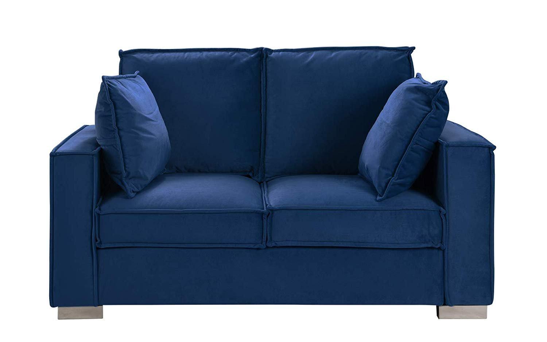 navy microfiber sofa where to get cheap sofas alema glam by