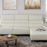 Details About Leather Match Sectional Sofa L Shape Couch With Chaise Lounge Right Chaise