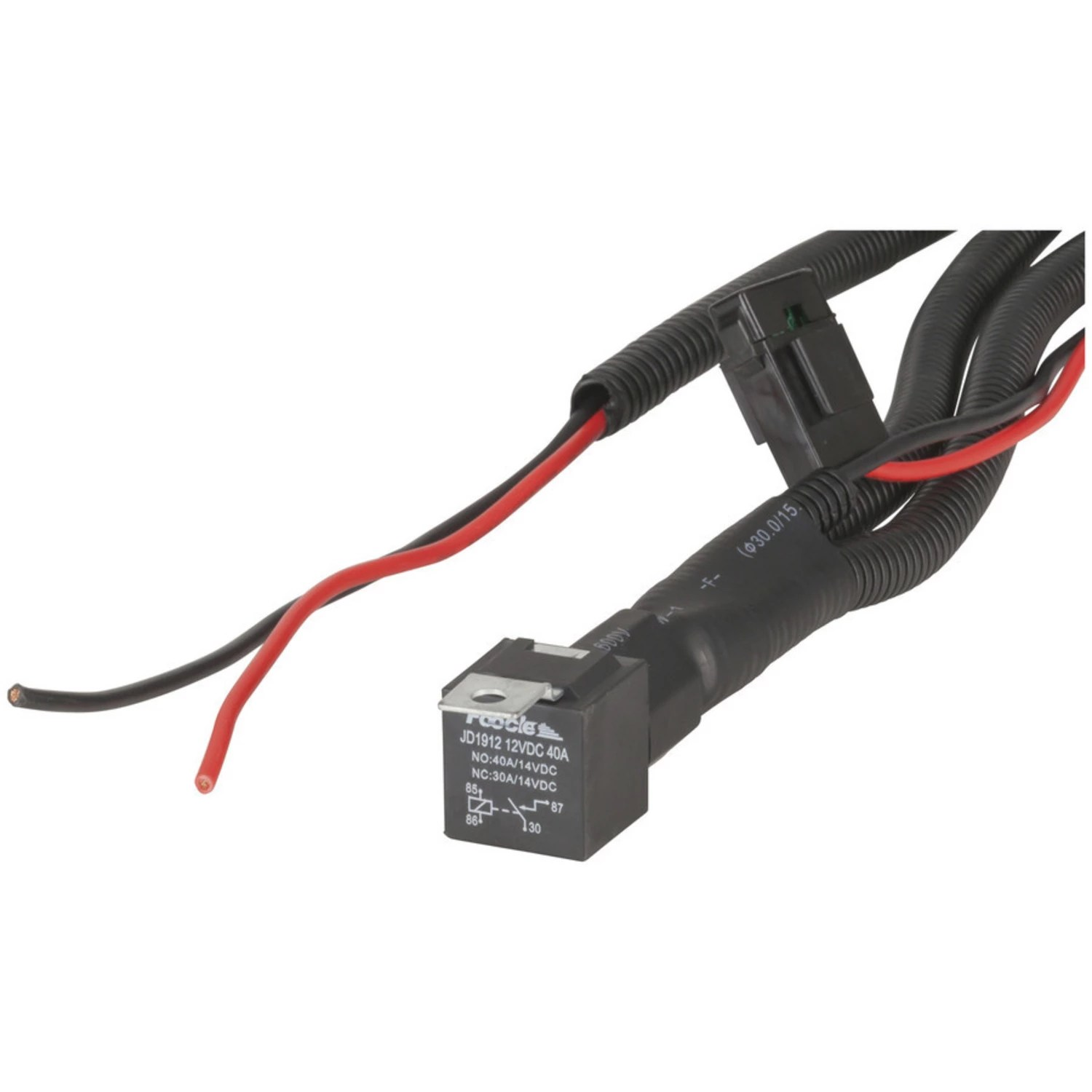 hight resolution of 12vdc 22 5a universal relay wiring kit