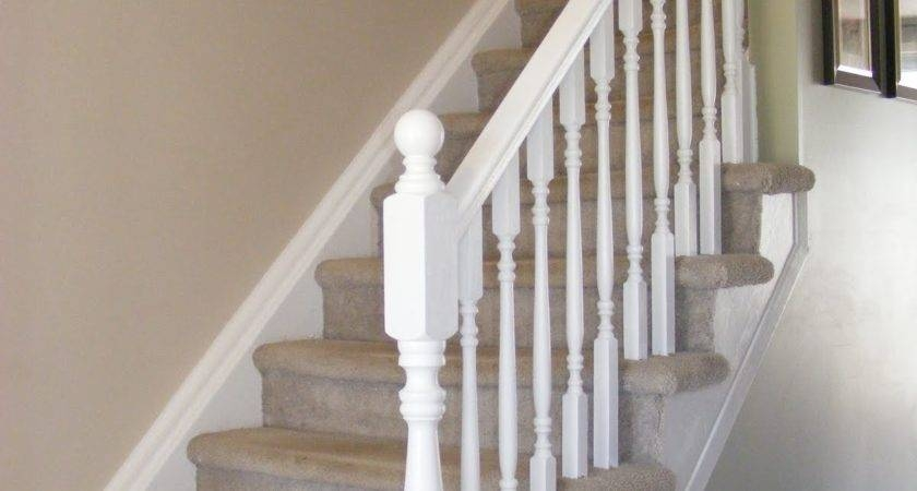 10 Best Simple Pictures Of Painted Stair Railings Ideas Little   Best Stair Railing Design   Stainless   Outside   Staircase   Simple   Handrail