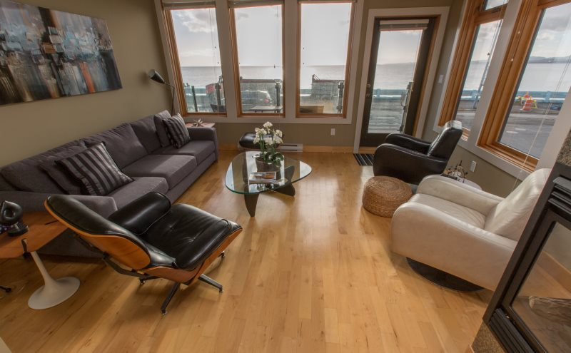 chair cover rentals victoria bc furry bean bag sea it all west private beach home rental in great ocean and mountain views new leather chairs