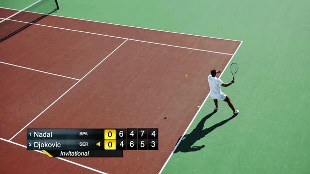 Livestream Studio  Scoreboard Tennis