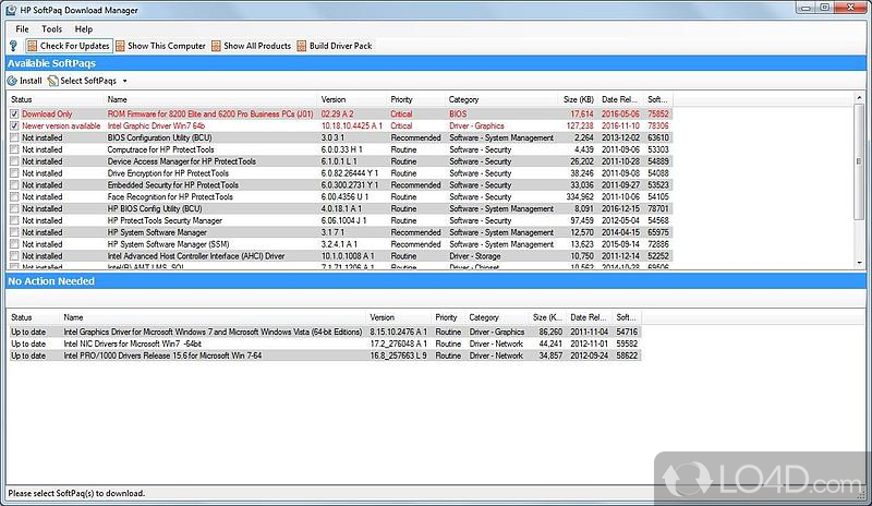 HP SoftPaq Download Manager - Download