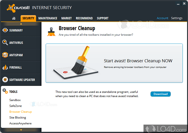 Avast Browser Cleanup - Download