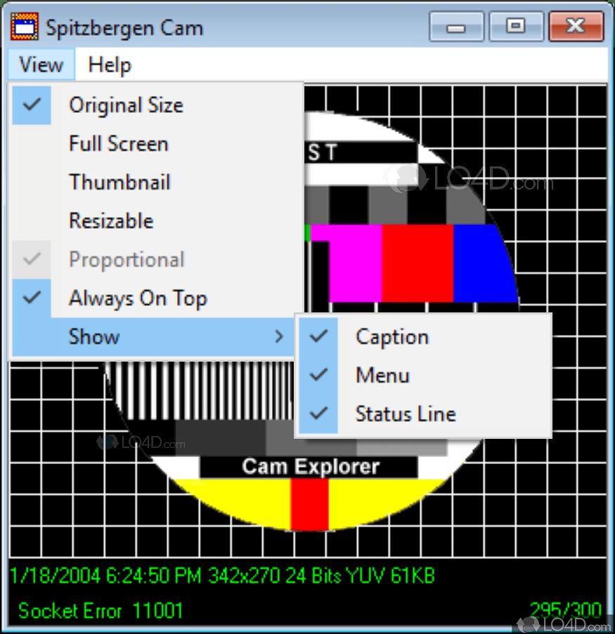 Free Software Cam