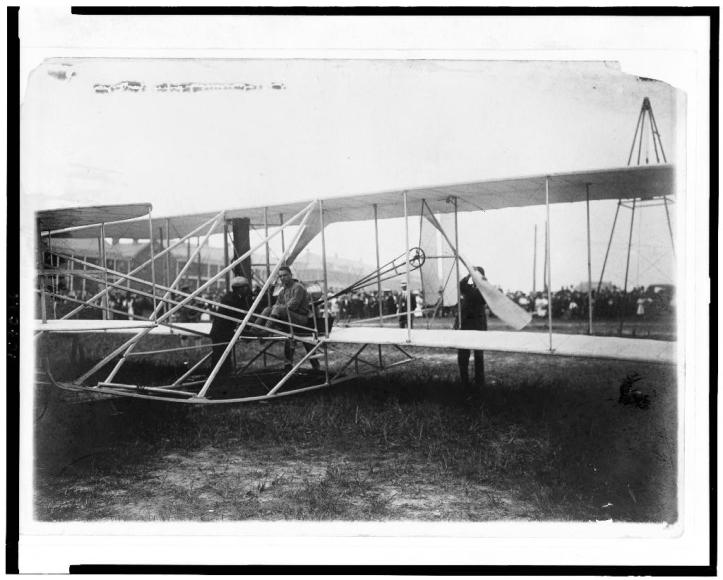 Resultado de imagen para hermano wright Fort Myer 1908