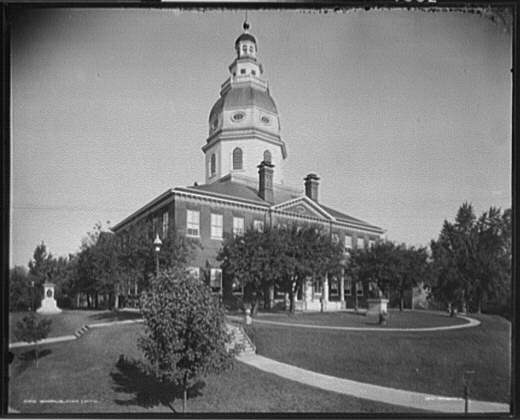 The Maryland State Capitol in Annapolis.