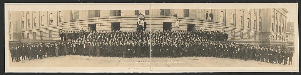 Anti-Saloon League at Washington, D.C., Dec. 8, 1921. J. M. Naiman, photographer. Library of Congress image