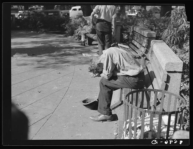 Unemployed youth. Washington, D.C.