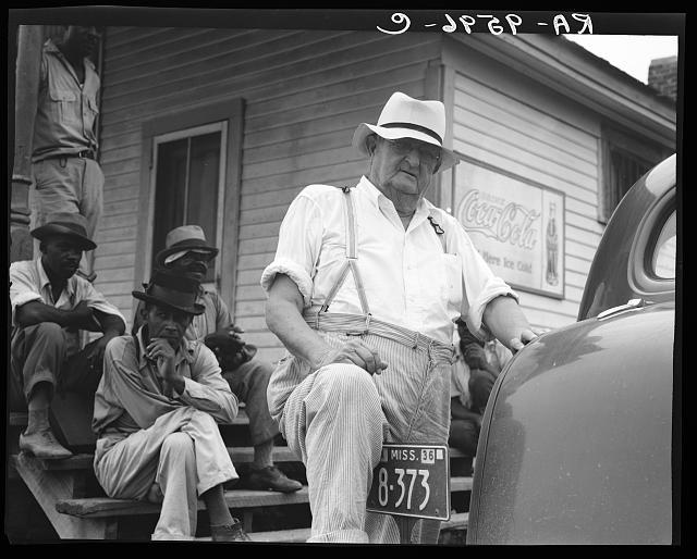 Plantation overseer. Mississippi Delta, near Clarksdale, Mississippi