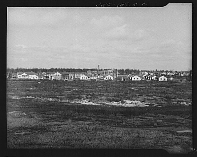 Detroit, Michigan. The Sojourner Truth homes, a new U.S. federal housing project