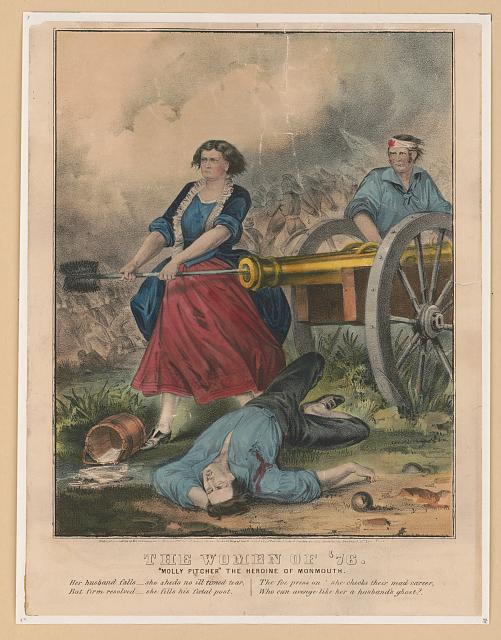"The women of '76: ""Molly Pitcher"" the heroine of Monmouth"