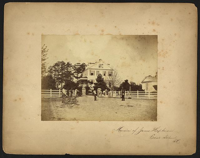 Mansion of James Hopkinson, Edisto Island, S.C.
