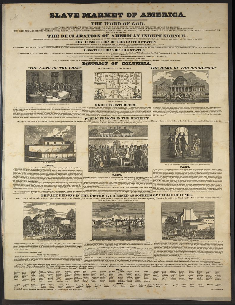 Paper Produced by Abolitionist