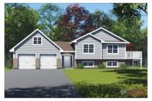 Side Split House Plans